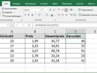 Excel - Runden