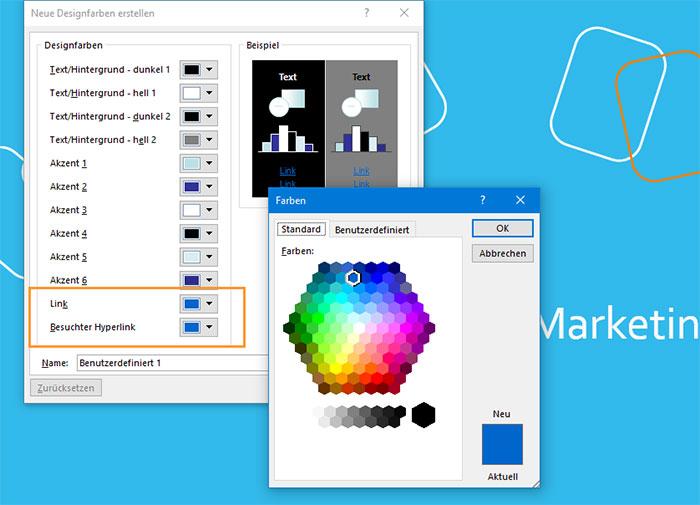 powerpoint_hyperlink_farbwahl