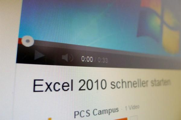 Flash-Video auf PCS Campus