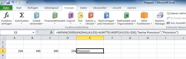 Excel: Formelauswertung Schritt für Schritt