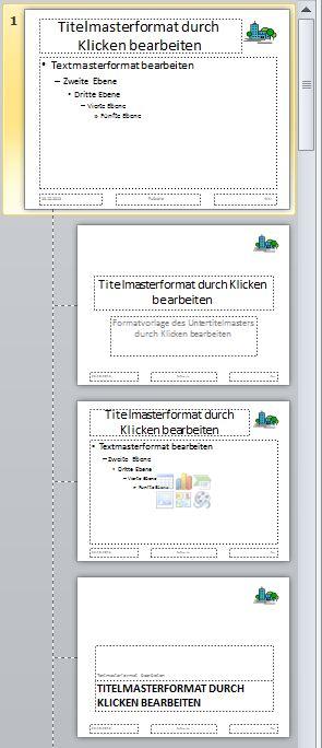 Eigene Master-Vorlagen in PowerPoint 2010 erstellen
