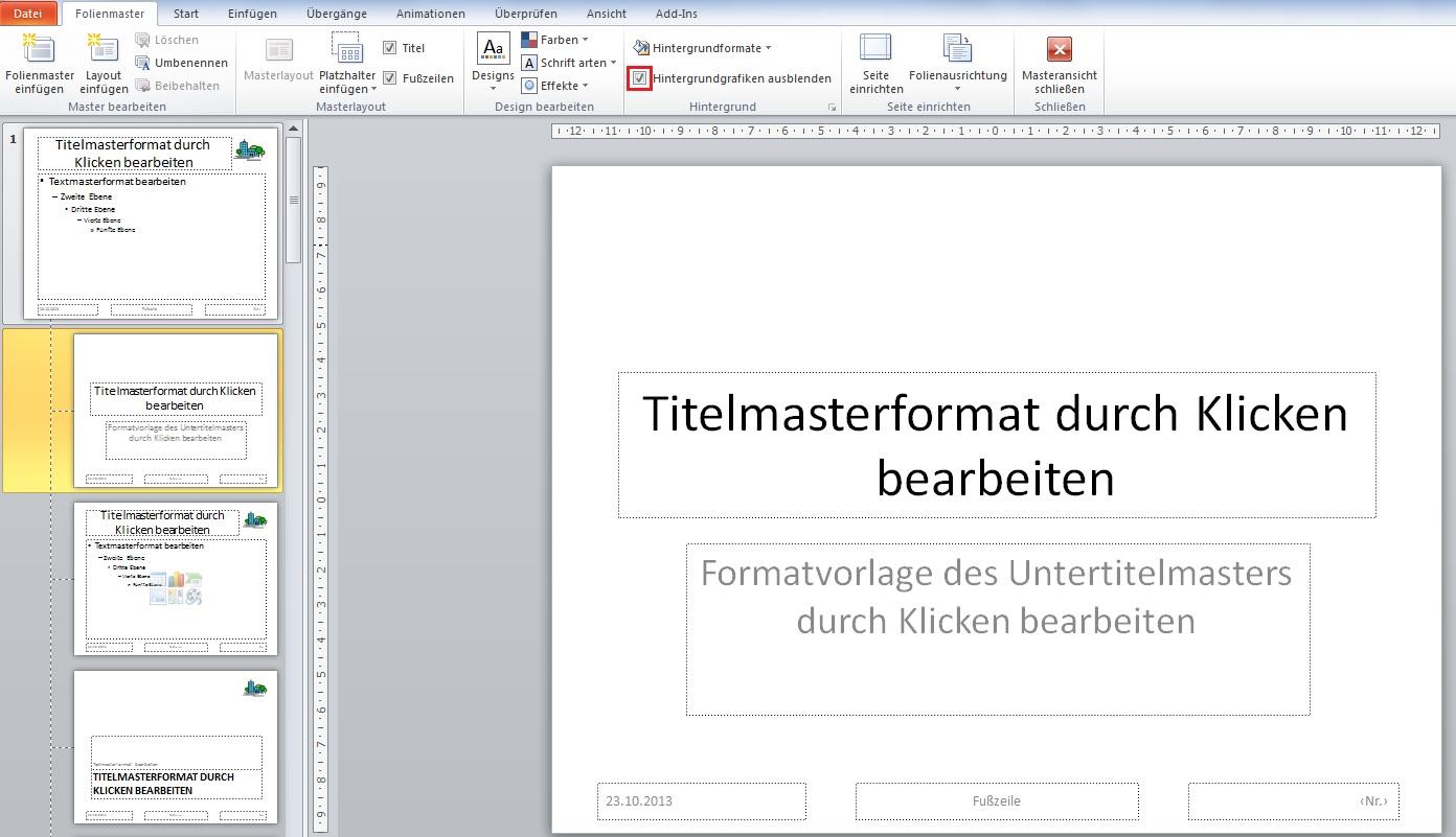 PowerPoint: Erstellung eigener Mastervorlagen | PCS Campus