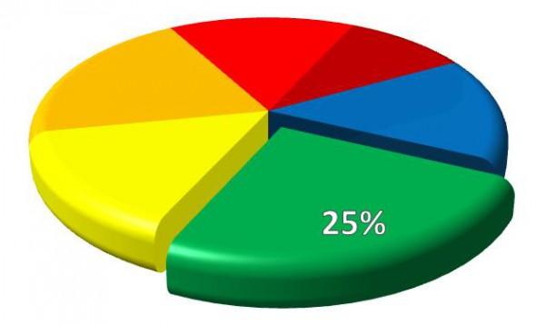 Excel-Diagramme: Kreise und Ringe mal anders