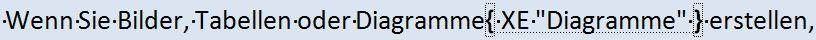 Word 2010: Stichwortverzeichnis anlegen
