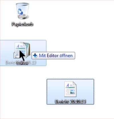 Windows 7 Tipp: Datei zügiger mit Alternativprogramm öffnen