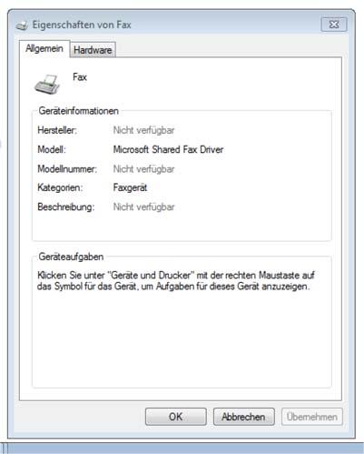 Windows 7 Tipp: Wieder sichtbar - Eigenschaftenfenster