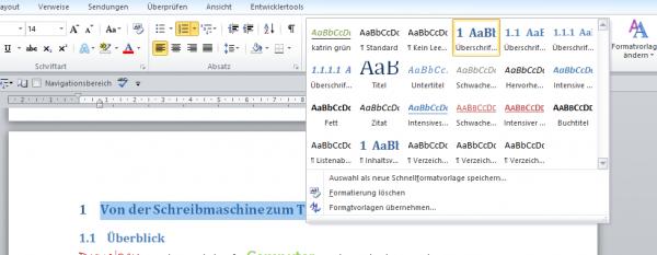 Word: PDF-Dateien mit Textmarken erstellen