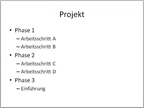 PowerPoint: Text in SmartArt umwandeln