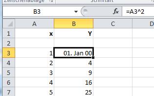 Excel 2010: Formeln anzeigen lassen