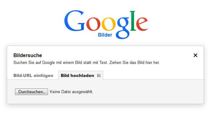 Google Rückwärtssuche