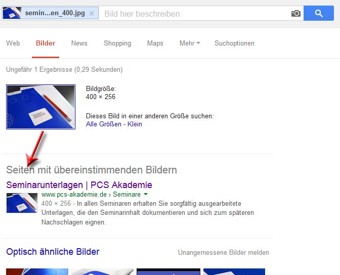 Google Rückwärts Suche