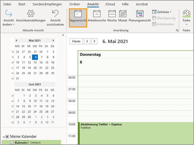 Outlook - Freie Termine fnden