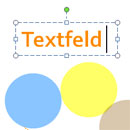 Textfeld in PowerPoint