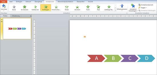 PowerPoint - SmartArts animieren