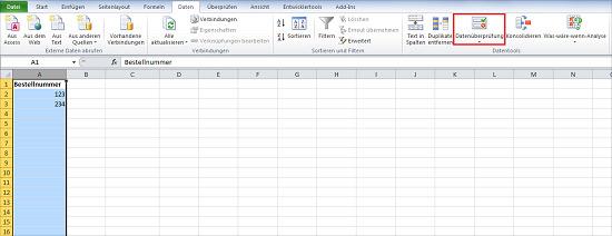 Excel doppelte Werte