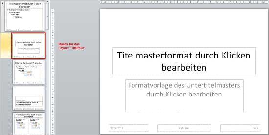 PowerPoint Aufforderungstexte