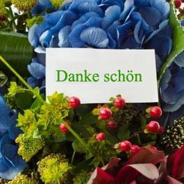 Texten: Danke schön