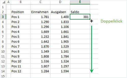 Excel Tastatur und Maus
