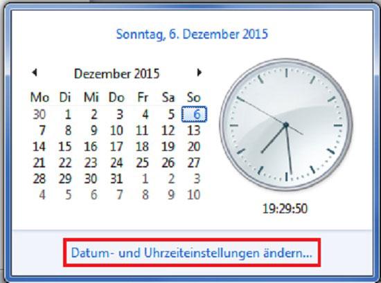 Windows mehrere Uhrzeiten einstellen