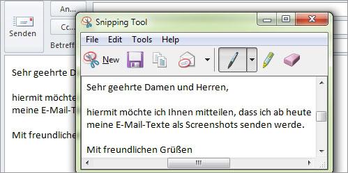 Outlook - Mails schützen