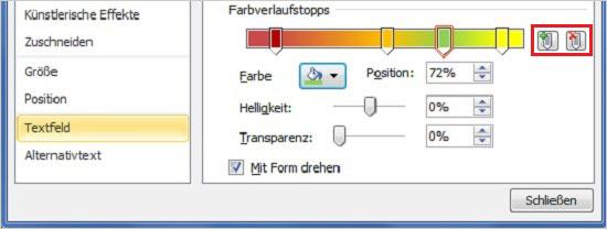 PowerPoint - Farbverläufe