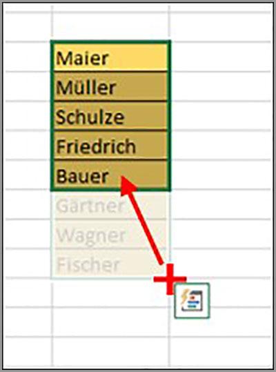 Excel Autolöschen