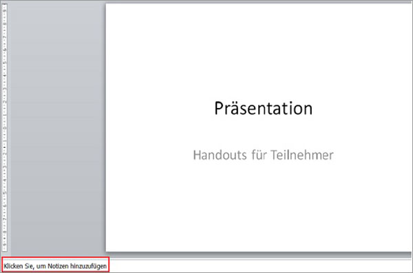 Powerpoint Handout Erstellen