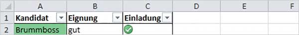 Excel - nach Farben sortieren