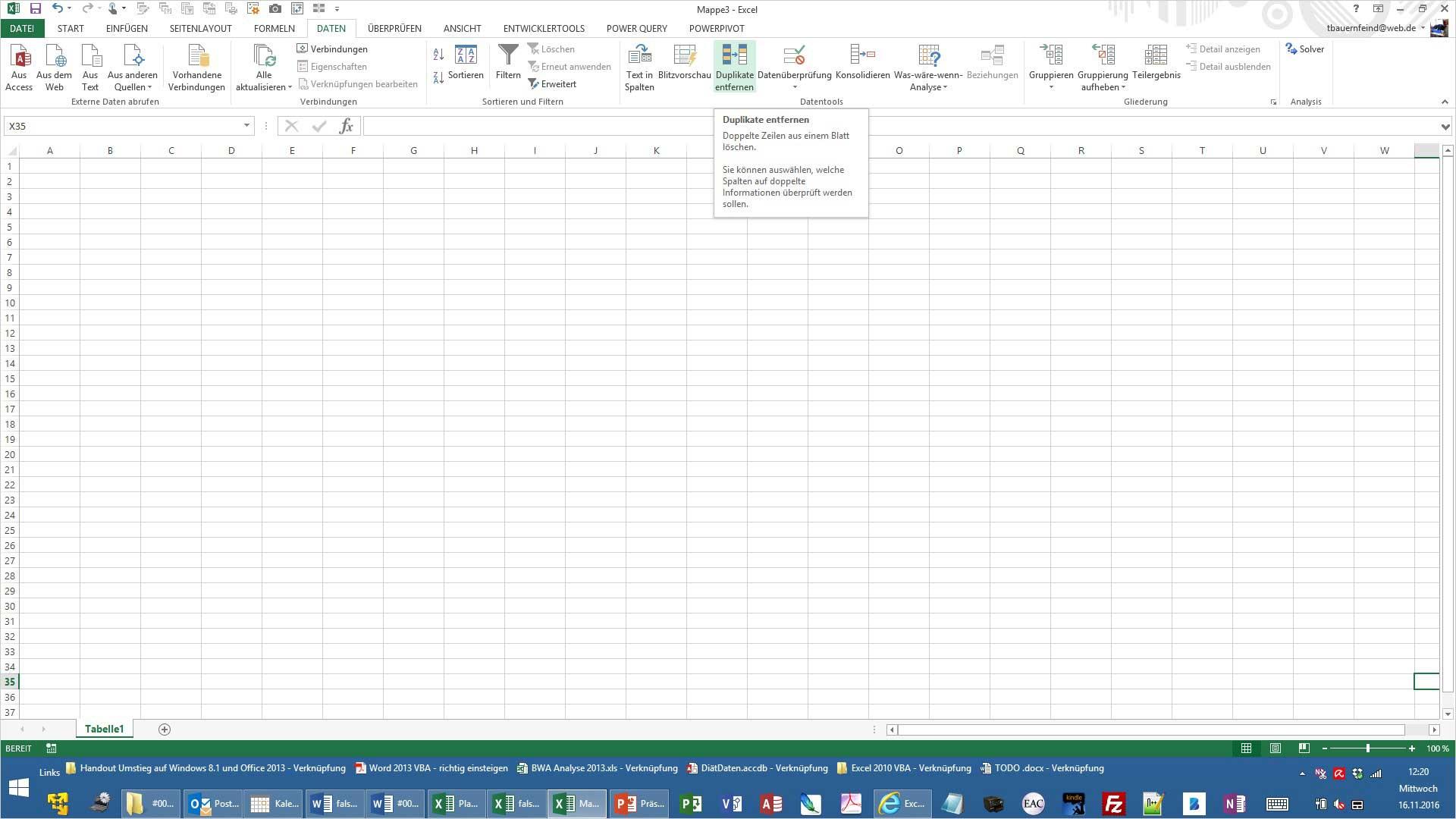 Excel Schreibfehler korrigieren