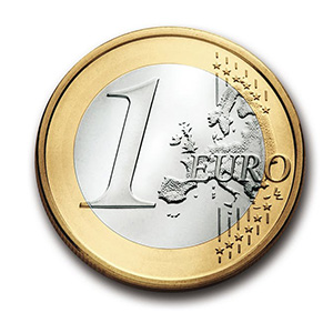 PowerPoint Animation: rollender Euro