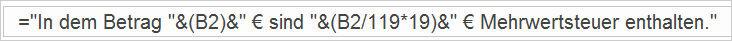 Excel - in Texten rechnen