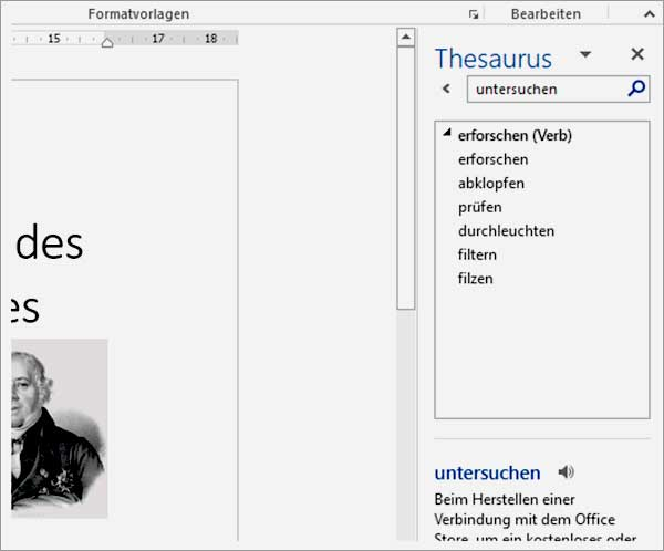 Word Thesaurus