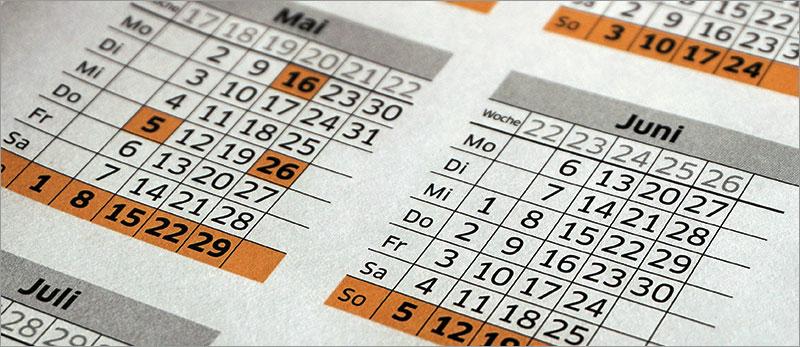 Excel - Listen nach Datum auswerten