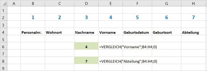 Excel - SVERWEIS