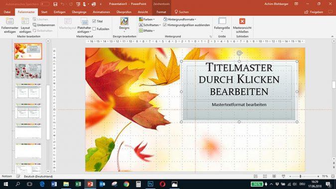 PowerPoint - Schriftart tauschen