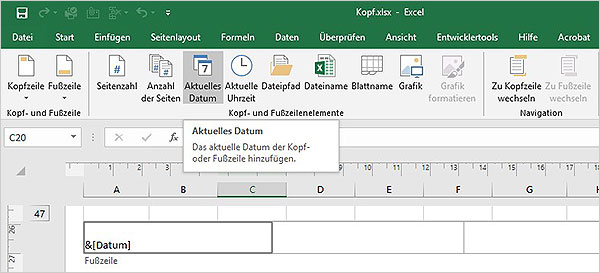 Excel - Formatcodes
