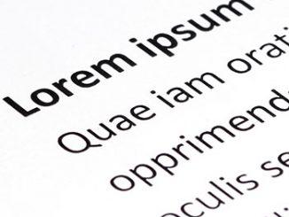 Was ist eigentlich Lorem Ipsum.? Foto:: jiradet_ponari / Adobe Stock