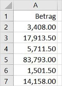 Excel - Amerikanische Zahlen umwandeln