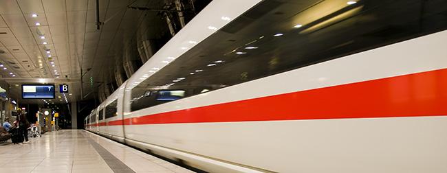 Dienstreise mit der Bahn