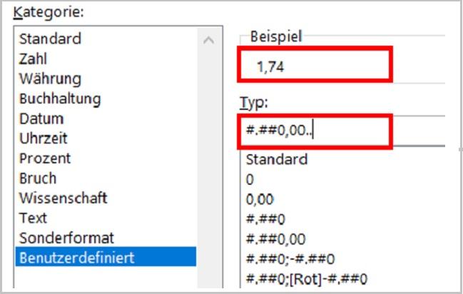 Excel- Zahlen in Millionen - Zahlen verkleinern