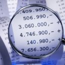 Excel- Zahlen in Millionen - 350 Bild: Eisenhans Adobe Stock